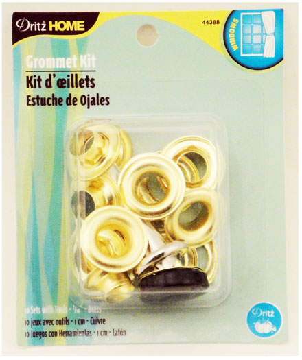 Grommet Kit 7/16 10ct Brass