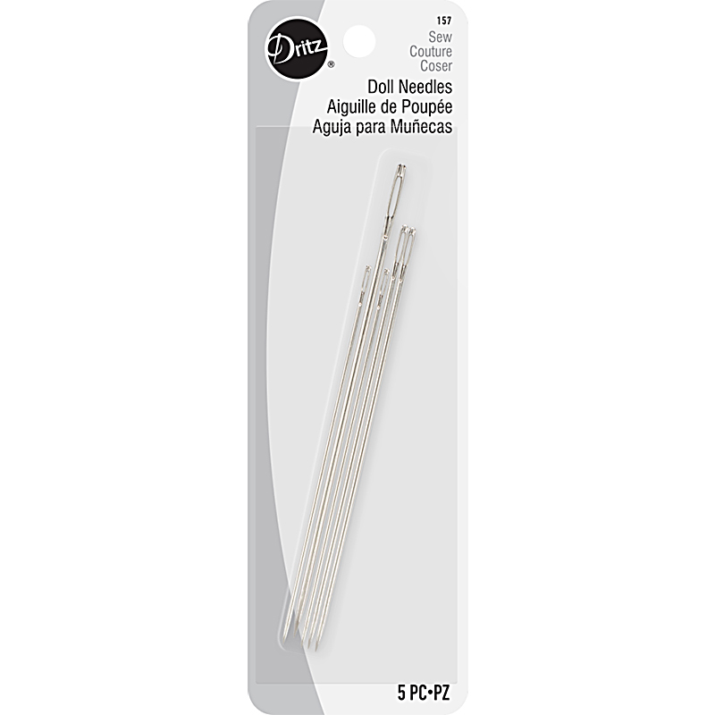 Doll Needles Assorted 5ct