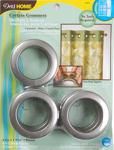 Grommets 1 9/16 8ct Pewter