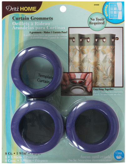Grommets 1 9/16 8ct Purple