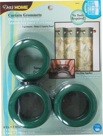 Grommets 1 9/16 8ct Green
