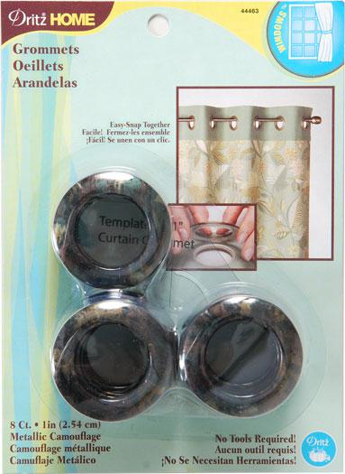 Grommets 1 8ct Metallic Camo