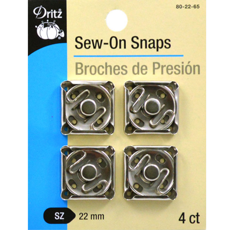 Sew-On-Snaps 22mm~
