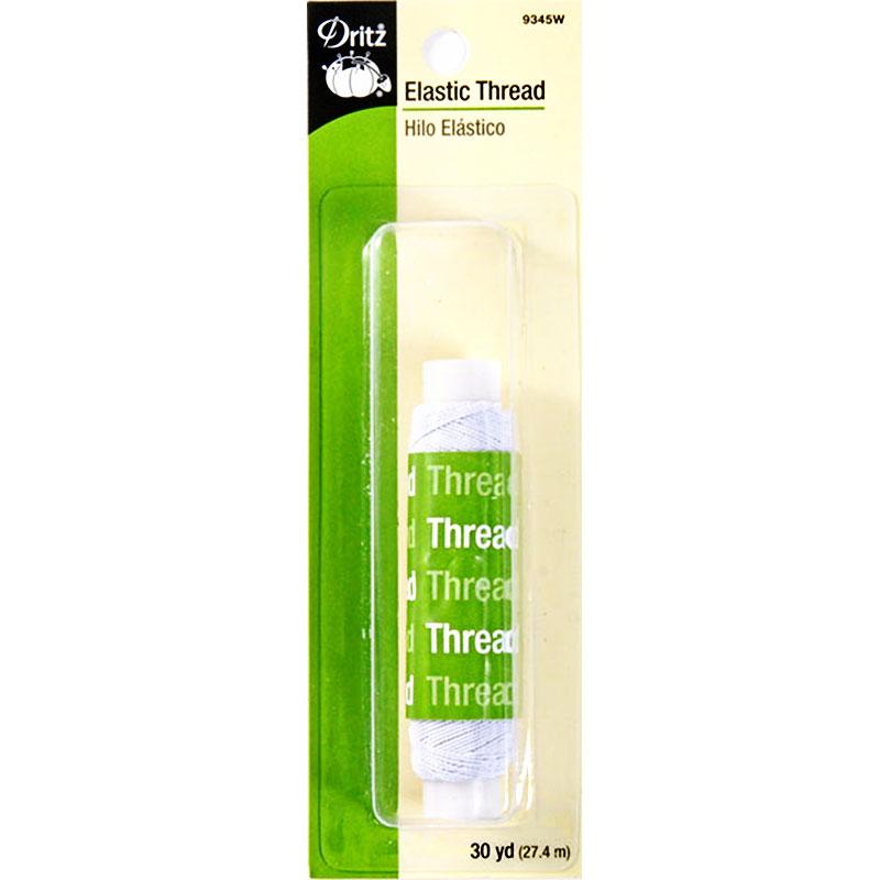 Elastic Thread 30yd White