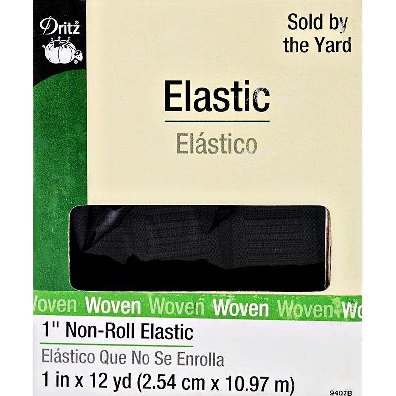 Non Roll Elastic 1 Black