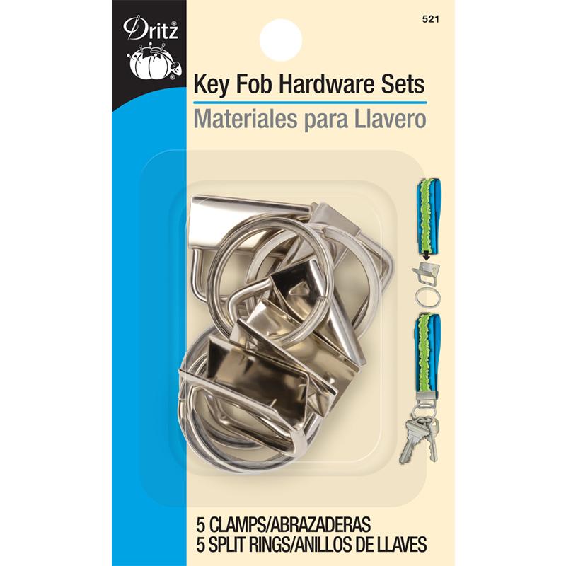 Key Fob Hardware Sets - 5 piece