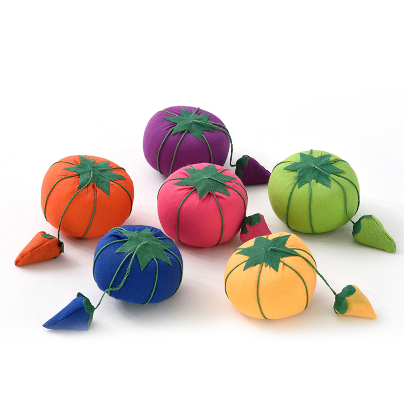 Baby Tomato Pin Cushion Asst. Colors