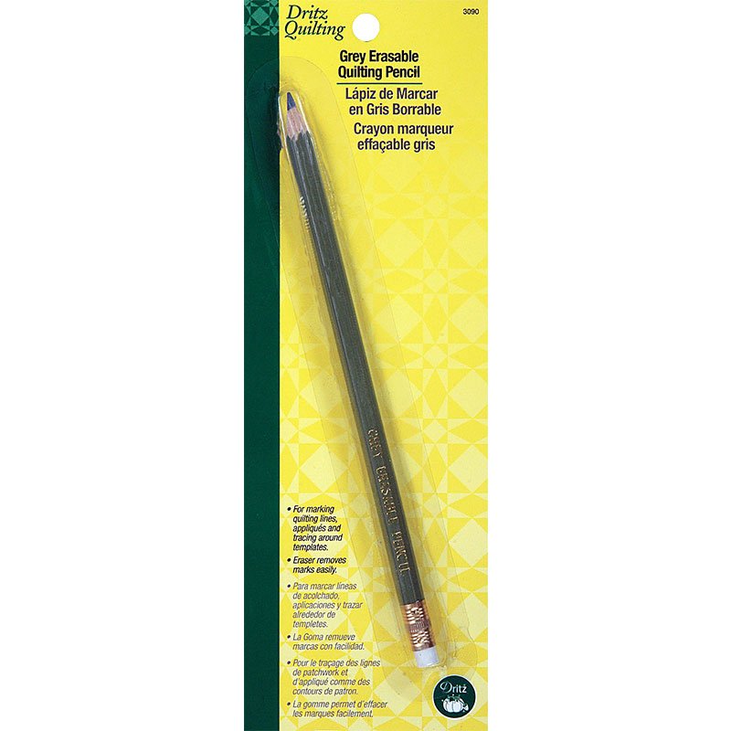 Dritz Erasable Quilting Pencil Grey