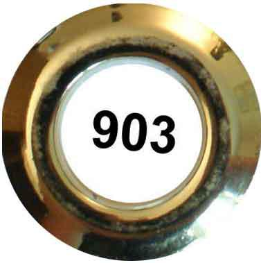 Grommet Circle 40mm 8ct Gold