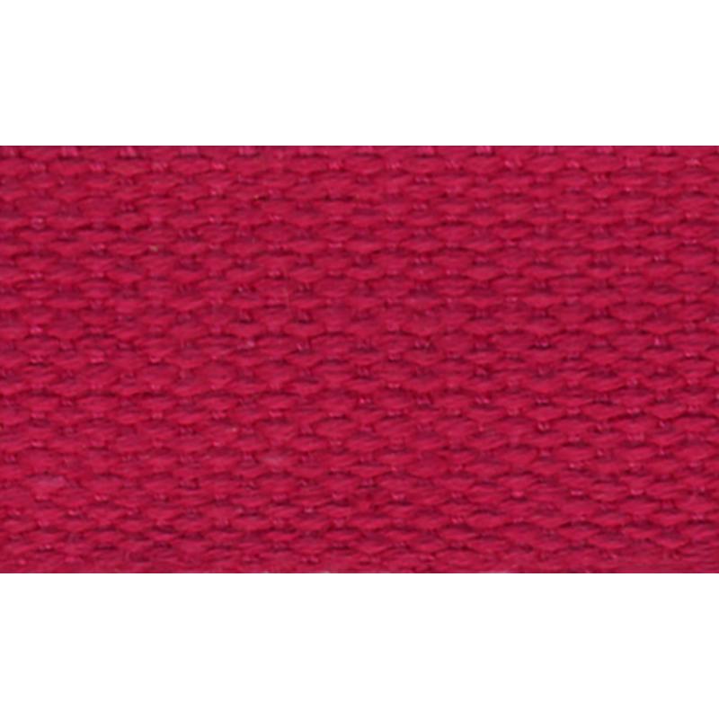 Cotton Webbing 1 100% Ctn Dk Pink