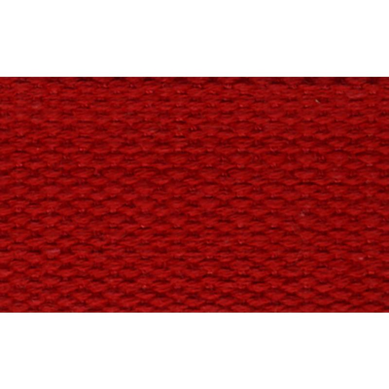 Cotton Webbing 1 100% Ctn Red