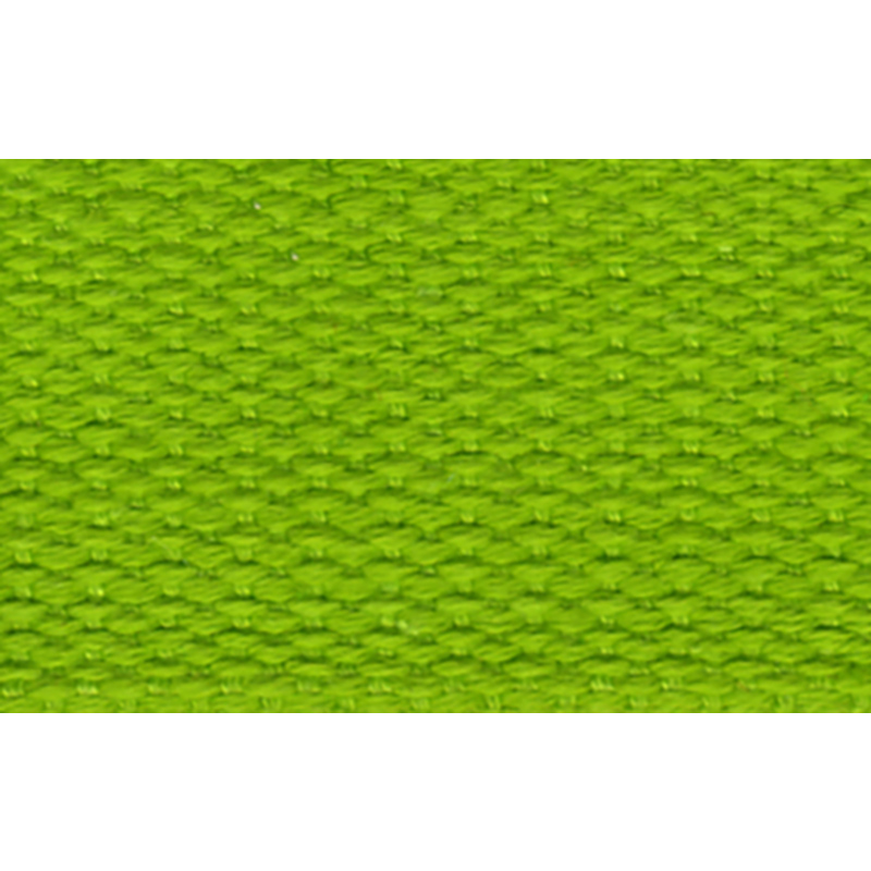 Cotton Webbing 1 100% Ctn Lime