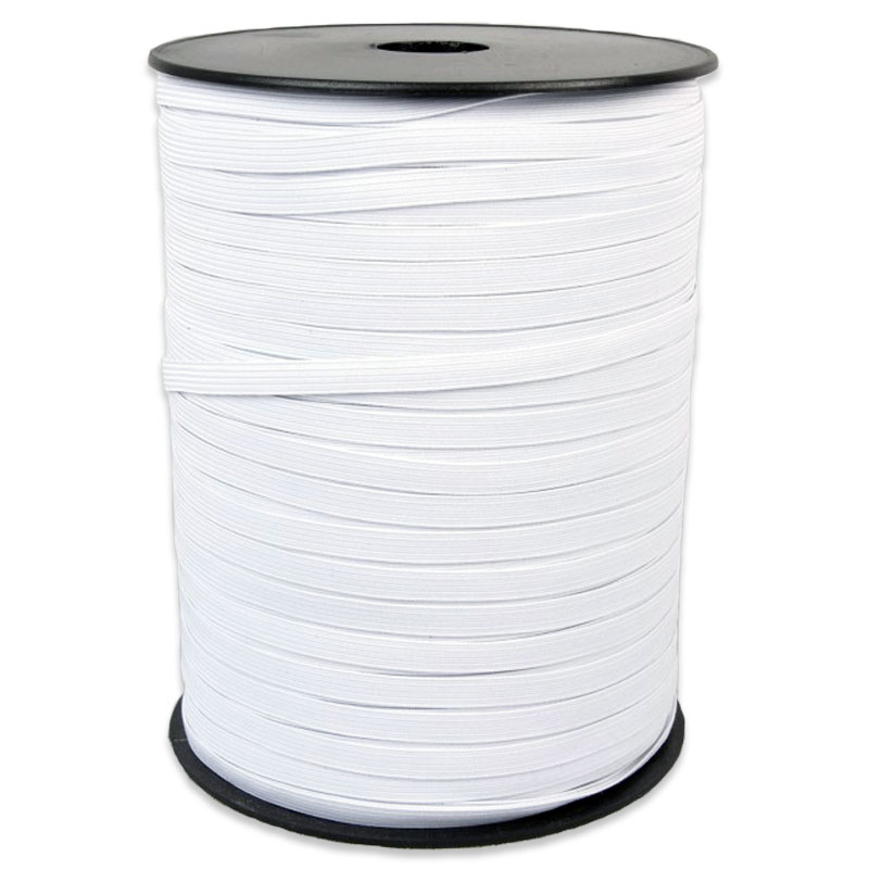 Elastic 5mm White