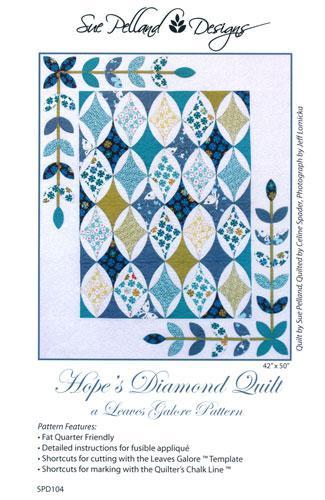 Hopes Diamond Quilt Pattern