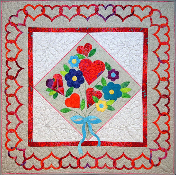 Sue Pelland Bouquet Pattern