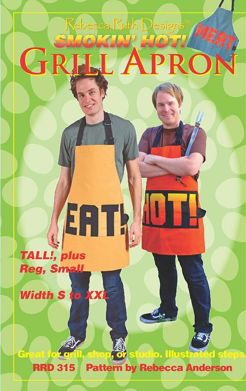 E - Smokin' Hot Grill Apron