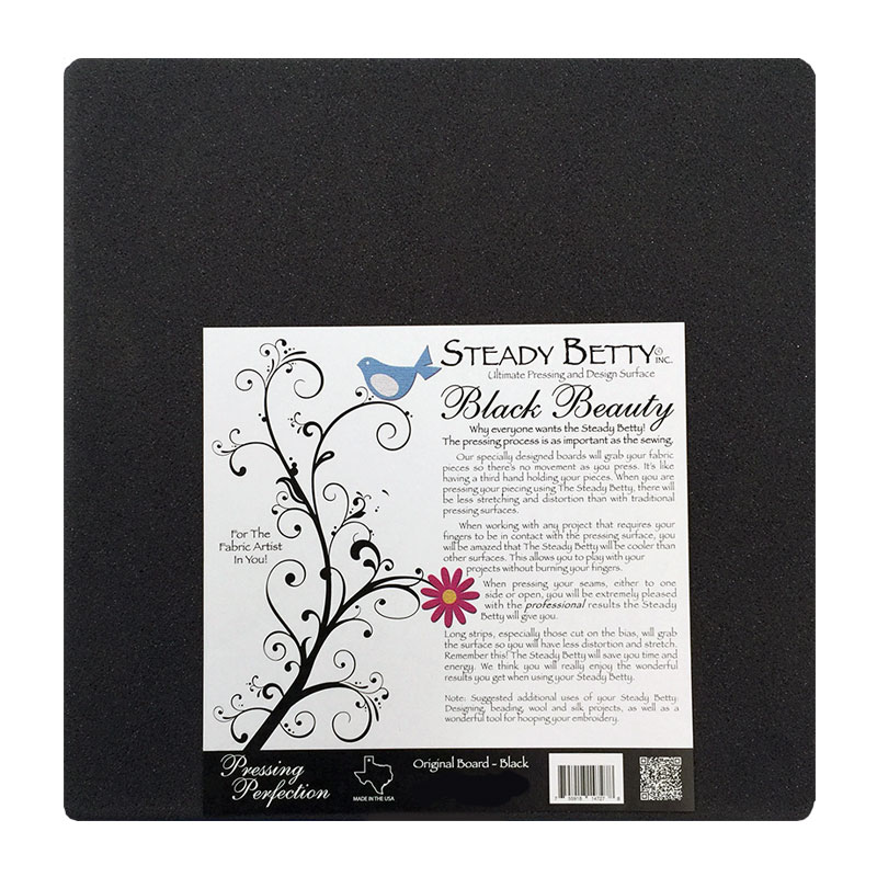 Black Beauty Press Board 12x12