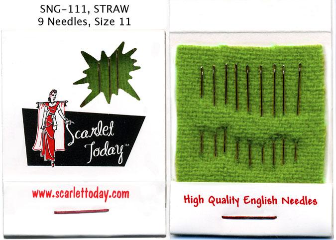Matchbook Needle Straw sz11