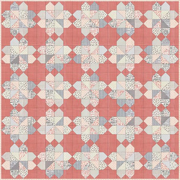 Bliss Quilt Pattern - 80 x 80