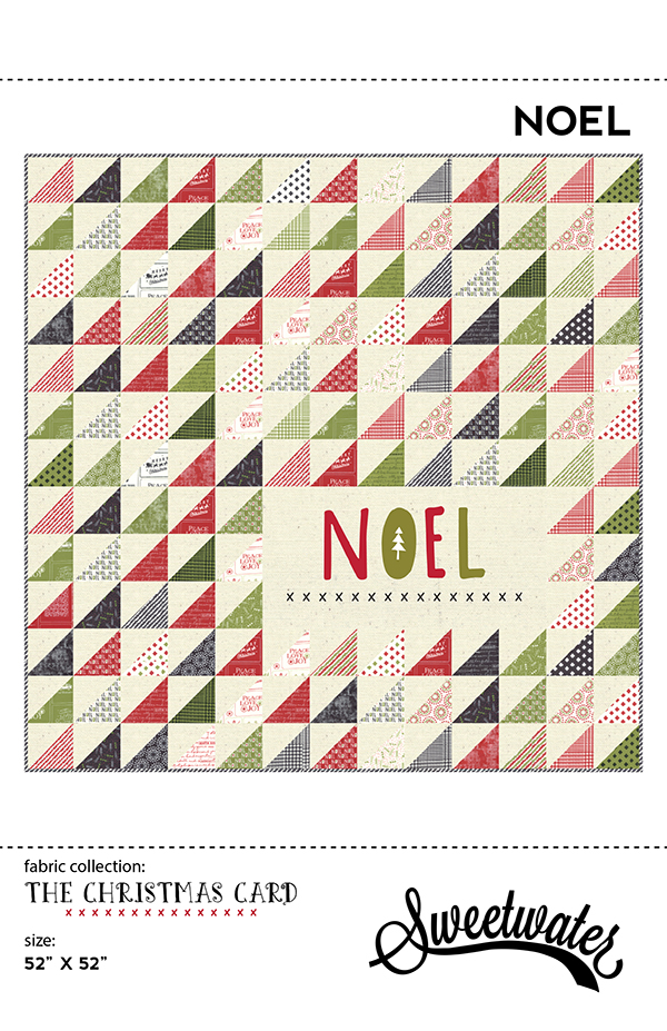 Noel Quilt Pattern quilt kit