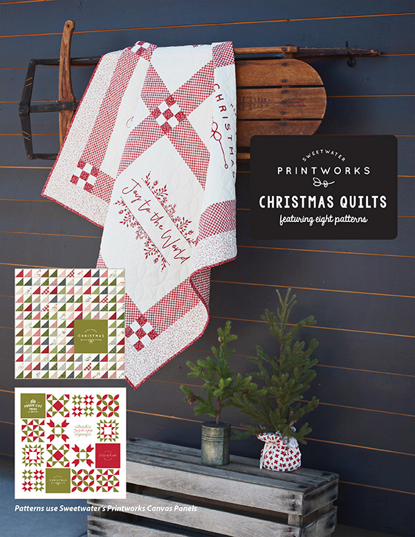 Printworks Christmas Quilts Bk SW P289