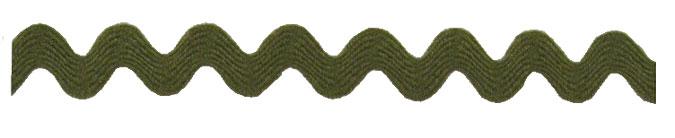 Ric Rac - 3/4 - Olive Green