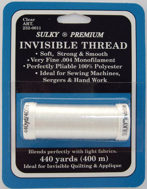 Sulky Invisible Thread Clear 232-0011