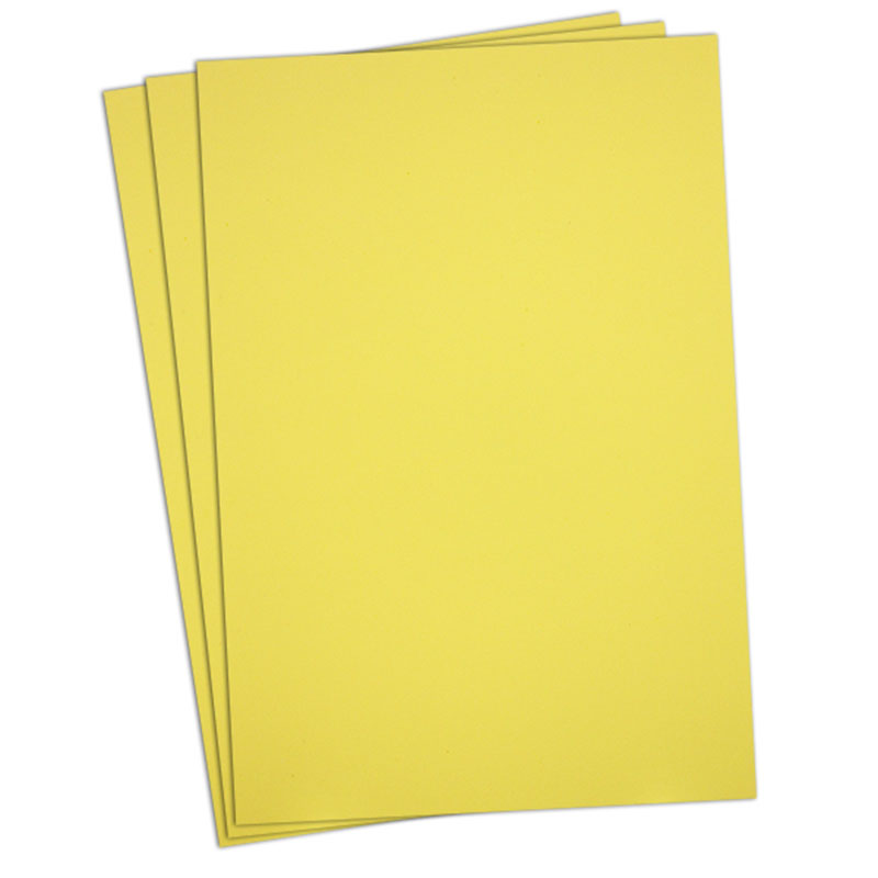 Puffy Foam 2mm Yellow