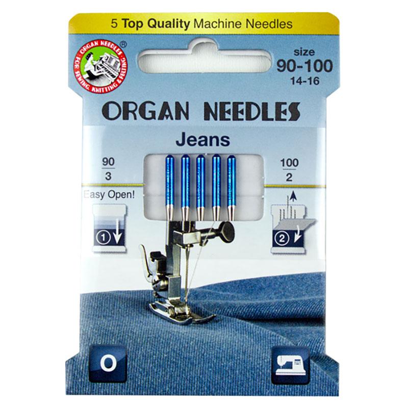Organ Jean Machine Needle Asst