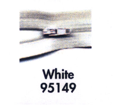 Make A Zipper 197 White