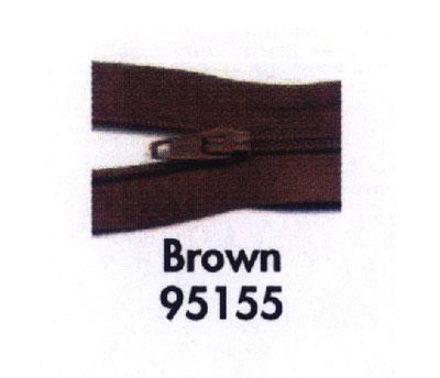 Make A Zipper 197 Brown