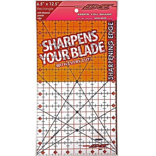 The Cutting EDGE Clear Ruler 6.5x12.5