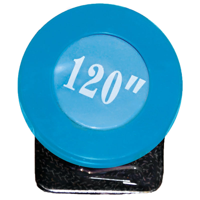 Retract Tape Measure 120 Blue