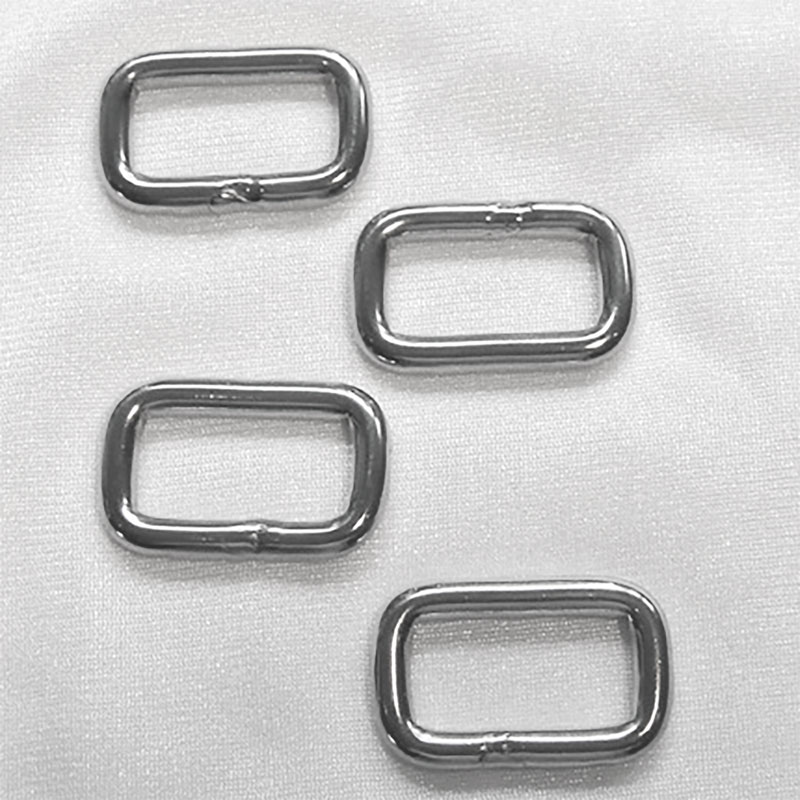 Rectangular Nickle Links 1in 4ct