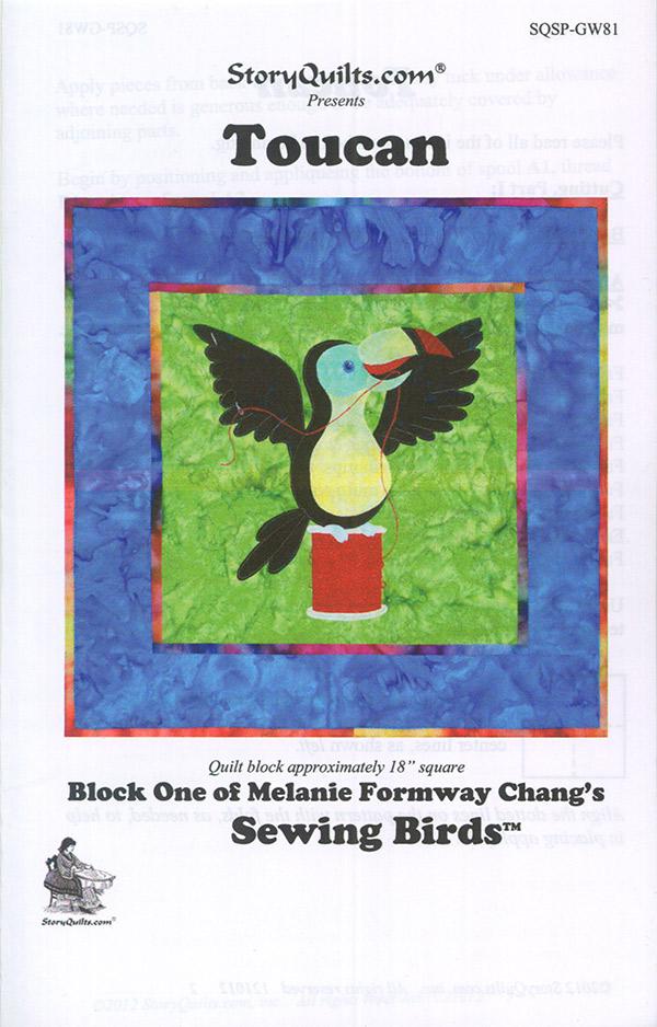 Sewing Birds/Toucan Pattern