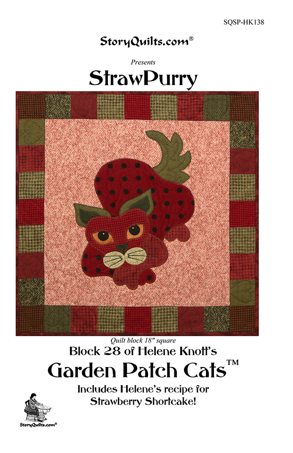 StrawPurry Cat Pattern