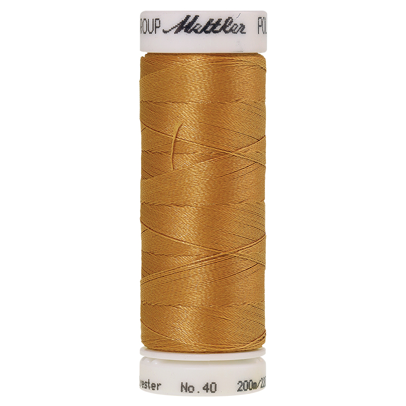 Polysheen Embroidery Thread, Toffee, 200m