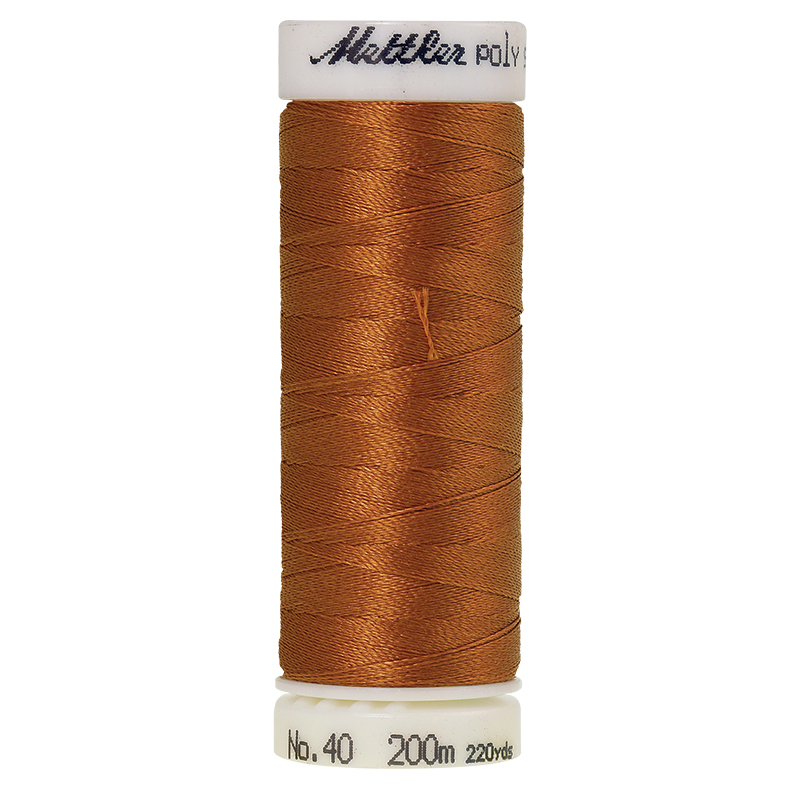 Polysheen Embroidery Thread, Nutmeg, 200m