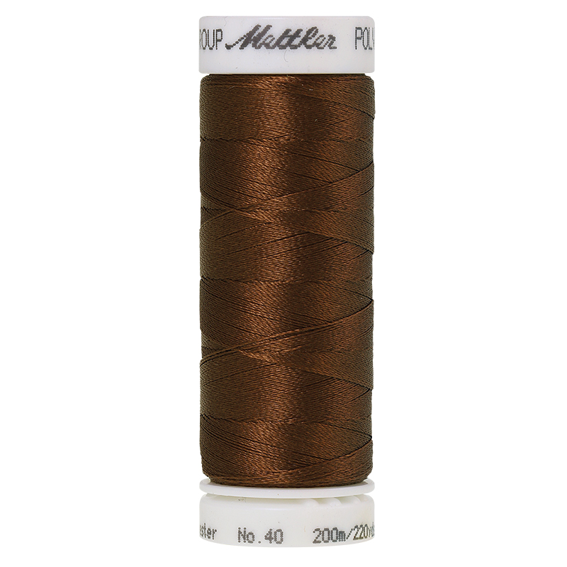 Polysheen Embroidery Thread, Redwood, 200m