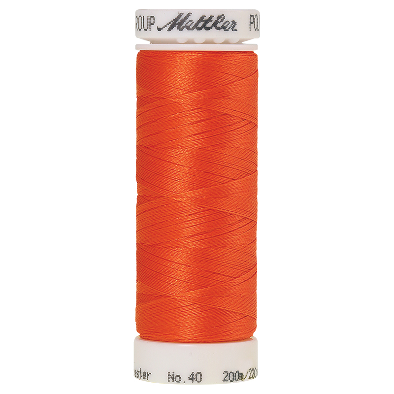 Polysheen Embroidery Thread, tangerine, 200m