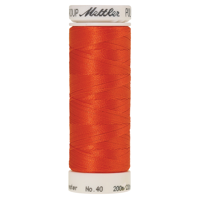 Polysheen Embroidery Thread, red pepper, 200m