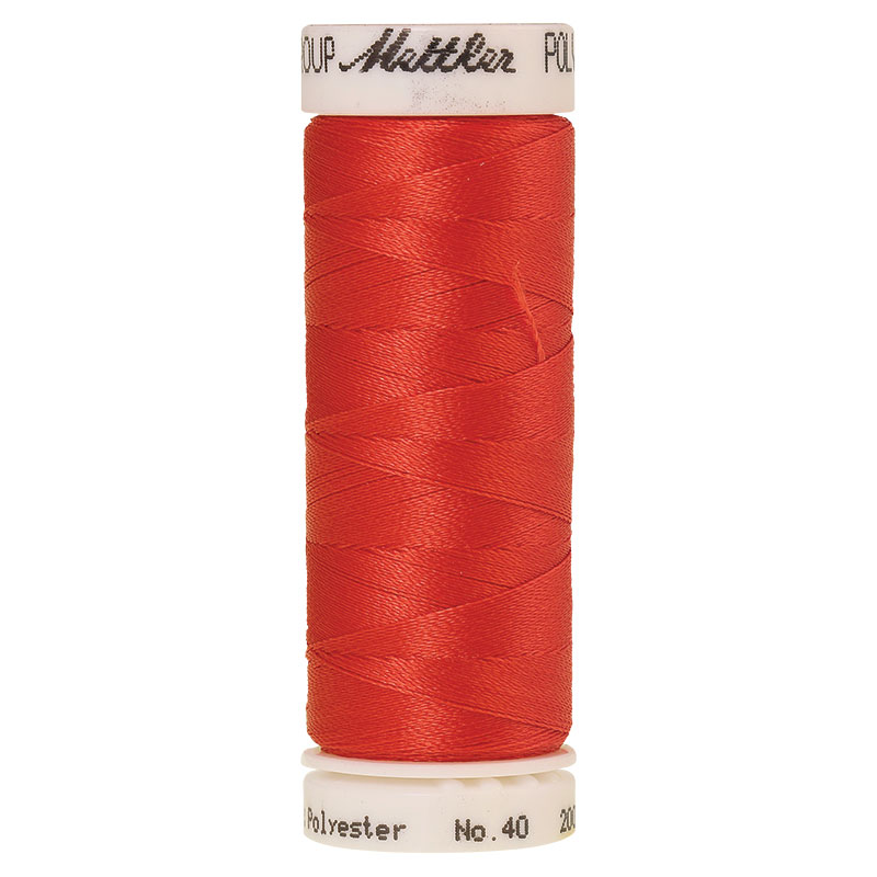 Polysheen Embroidery Thread, Spanish Tile, 200m