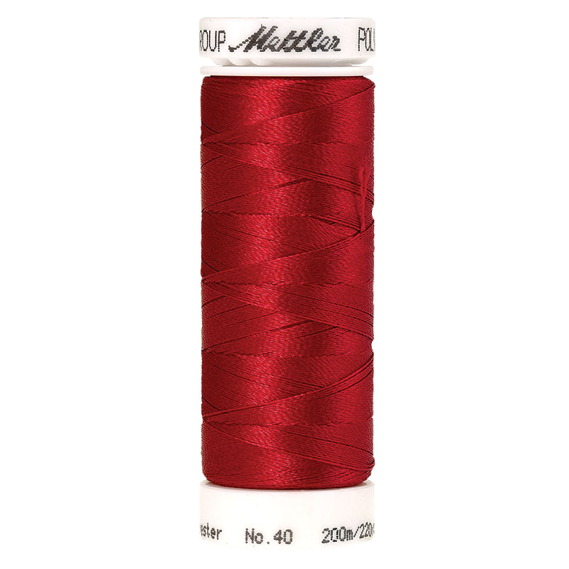 Polysheen Embroidery Thread 40 WT 220 yds 3406-1903 Lipstick