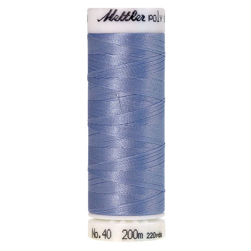 Polysheen Embroidery Thread, lake blue, 200m