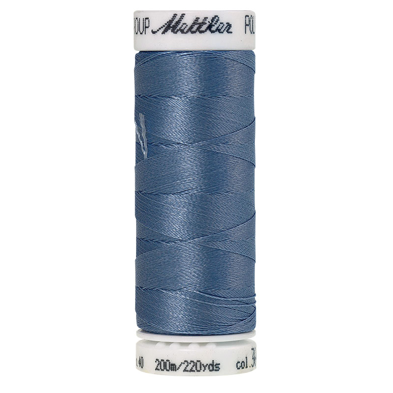 Polysheen Embroidery Thread, royal navy, 200m