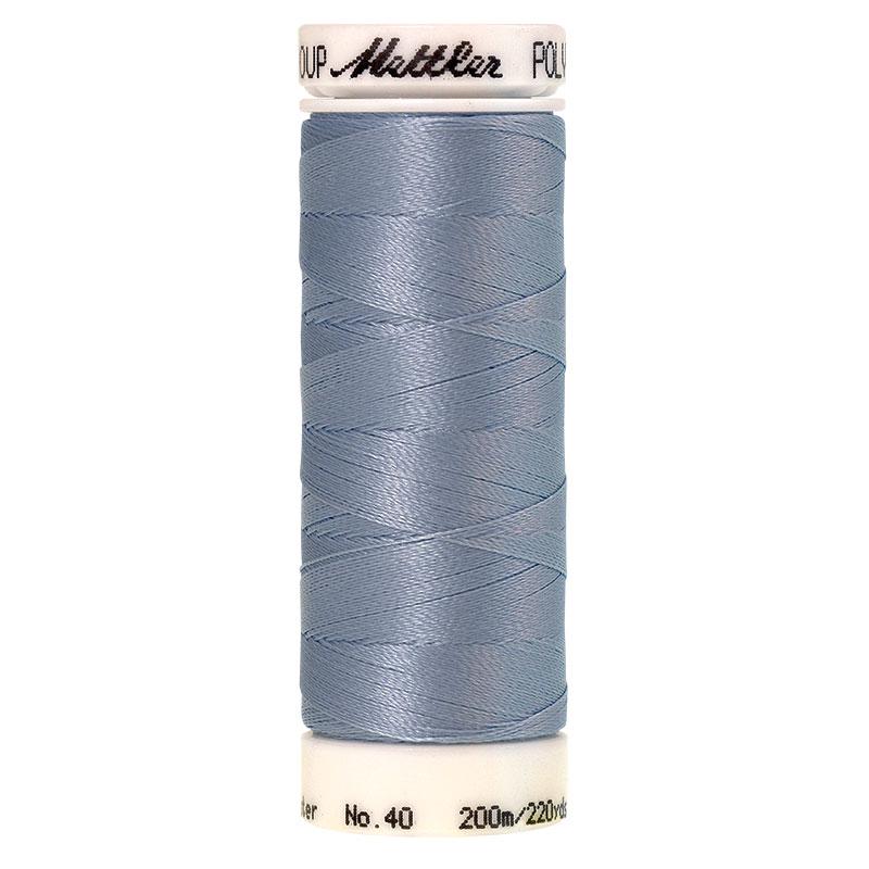 Polysheen Embroidery Thread, winter sky, 200m