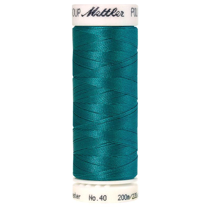 Polysheen Embroidery Thread, Marine Aqua, 200m