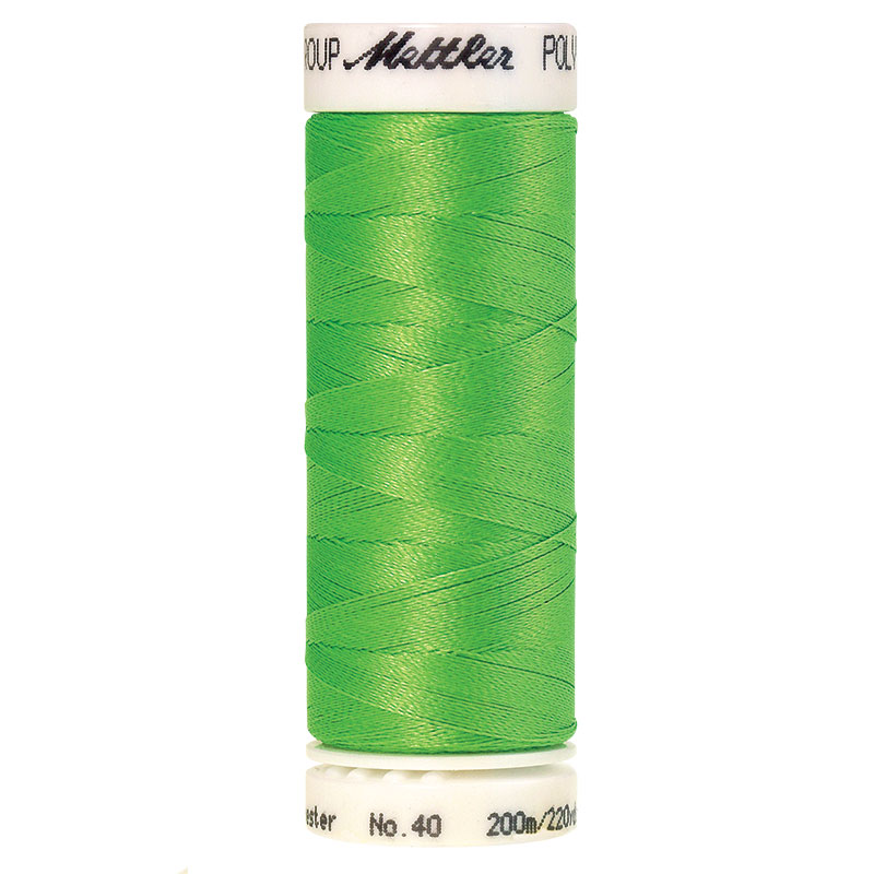 Polysheen Embroidery Thread, Limedrop, 200m