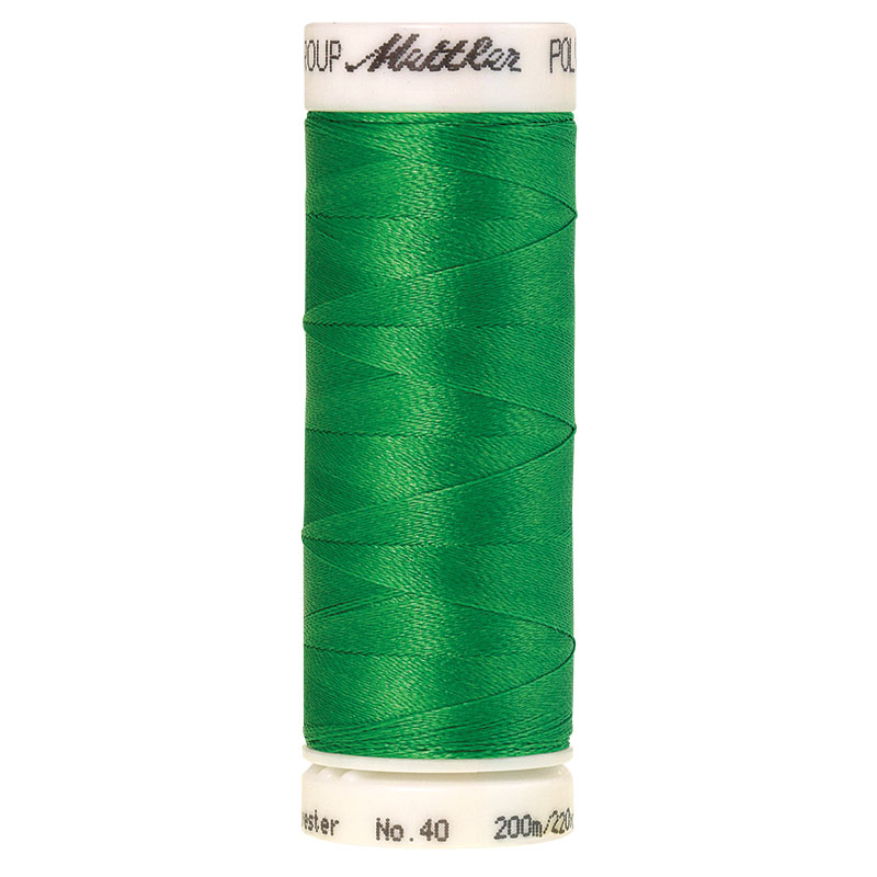 Polysheen Embroidery Thread, Light Kelly, 200m