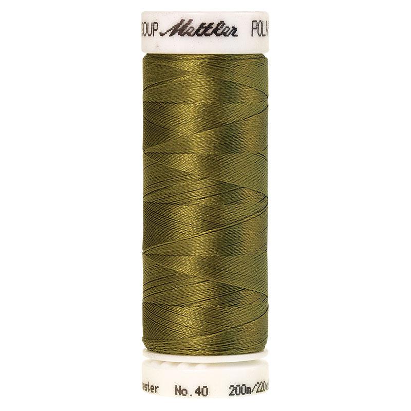 Polysheen Embroidery Thread, Caper Island, 200m